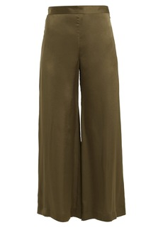 Rachel Comey High-rise wide-leg satin trousers