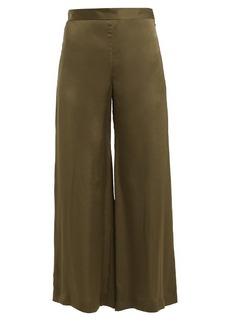 Rachel Comey High-rise wide-leg satin trousers