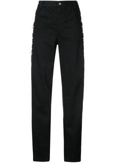 Rachel Comey high-waist tied trousers - Black