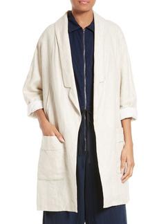 Rachel Comey Husband Linen Coat