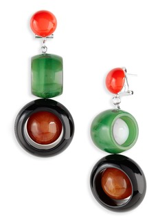 Rachel Comey Ladybird Drop Earrings