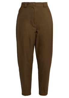 Rachel Comey Leonard cotton-blend high-rise tapered trousers