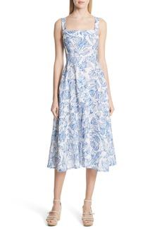 Rachel Comey Lido Linen Dress