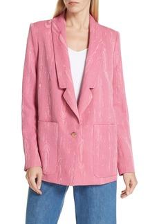 Rachel Comey Lovely Wool Blend Moiré Blazer