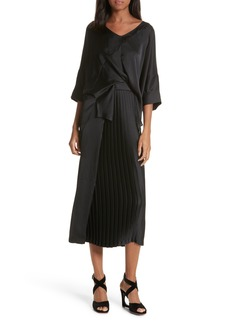 Rachel Comey Mure Satin Midi Dress