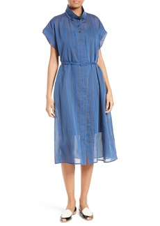 Rachel Comey Oasis Banker Stripe Midi Dress