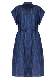 Rachel Comey Oasis banker-striped cotton-blend dress