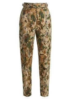 Rachel Comey Roam camouflage-print cotton-blend trousers