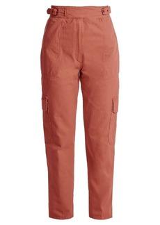 Rachel Comey Roam high-rise straight-leg cargo trousers