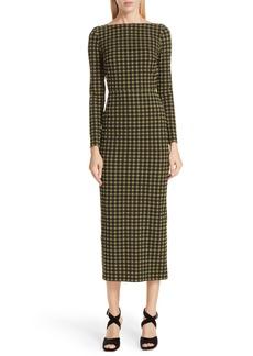 Rachel Comey Ryer Plaid Pencil Dress