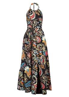 Rachel Comey Sazerac Halter Maxi Dress