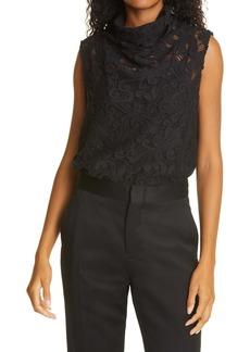 Rachel Comey Sheridan Cotton Blend Lace Top