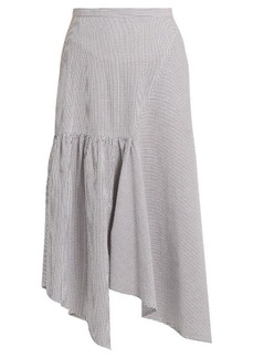 Rachel Comey Steady cotton-seersucker skirt