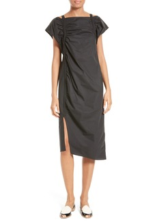 Rachel Comey Studio Cold Shoulder Dress