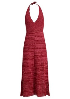 Rachel Comey Teddy crochet-cotton halterneck dress