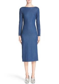 Rachel Comey Tenby Body-Con Denim Dress