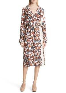 Rachel Comey Toga Silk Wrap Dress