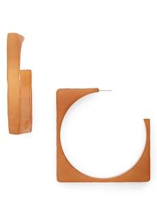 Rachel Comey Tuck Hoop Earrings