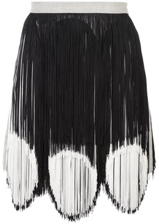 Rachel Comey two-tone fringe skirt