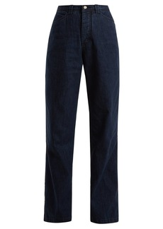 Rachel Comey Workwear high-rise wide-leg denim jeans