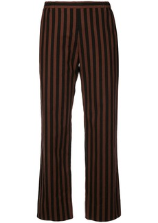 Rachel Comey striped straight-leg trousers