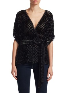 Rachel Comey Weekend Burnout Belted Top