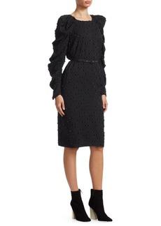 Rachel Comey Whiff Belted Sheath Dress
