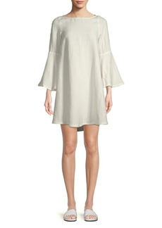 Rachel Pally Aemon Linen-Blend Boatneck Dress