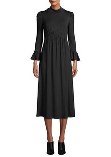 Rachel Pally Amala Mock-Neck Long Dress