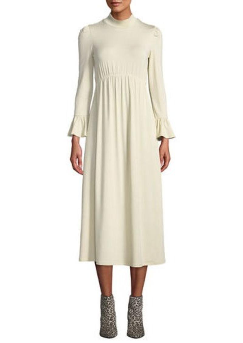 Rachel Pally Amala Mock-Neck Long Dress