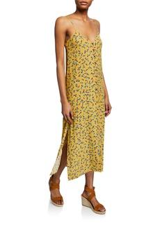 Rachel Pally Clarise Printed Button-Down Shift Midi Dress