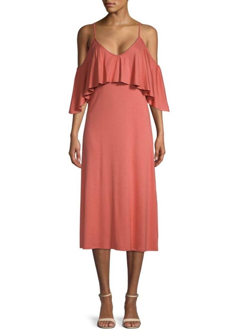 Rachel Pally Jae Ruffled Midi Dress