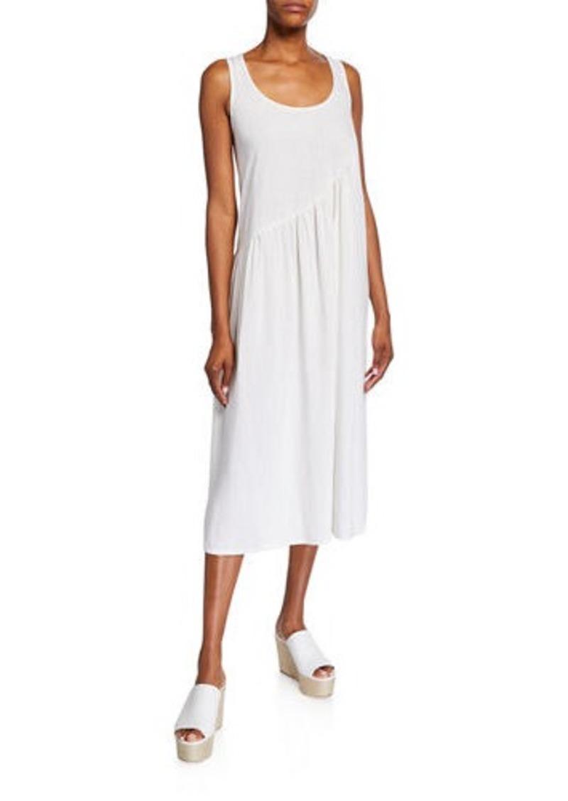 Rachel Pally Janie Sleeveless Shirred Linen Dress