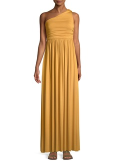 Rachel Pally Kaitlynn One-Shoulder Long Dress