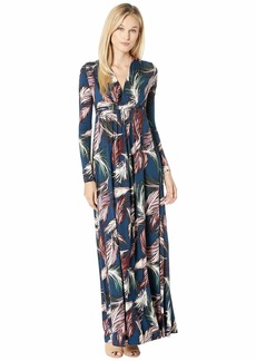 Rachel Pally Long Sleeve Full-Length Caftan