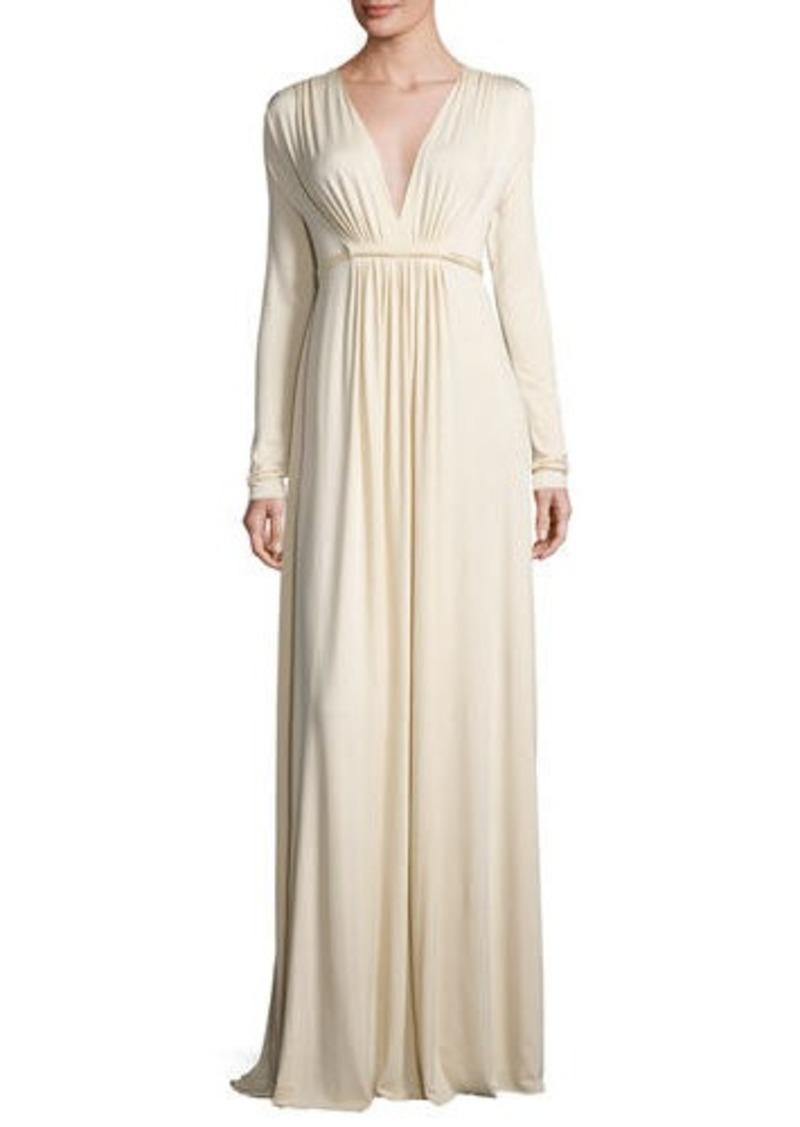 Rachel Pally Long-Sleeve Full-Length Caftan Dress