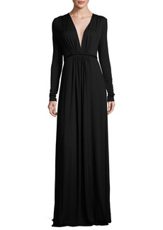 Rachel Pally Long-Sleeve Full-Length Caftan Dress