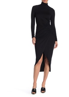 Rachel Pally Magdalena Drape Midi Dress