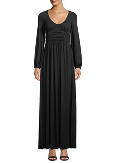 Rachel Pally Mallory Scoop-Neck Maxi Dress