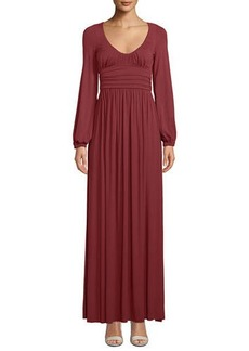 Rachel Pally Mallory Scoop-Neck Maxi Dress  Plus Size
