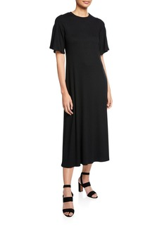 Rachel Pally Oona Short-Sleeve Rib Dress
