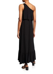 Rachel Pally Plus Size Harmony One-Shoulder Sleeveless Maxi Dress