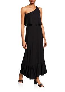 Rachel Pally Plus Size Harmony One-Shoulder Sleeveless Maxi Dress