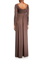 Rachel Pally Plus Size Isa Long-Sleeve Jersey Maxi Dress