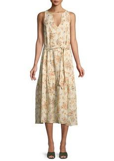 Rachel Pally Plus Size Lana Keyhole Gauze Dress