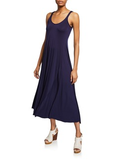 Rachel Pally Plus Size Nora Scoop-Neck Maxi Jersey Tank Dress