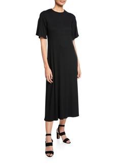 Rachel Pally Plus Size Oona Short-Sleeve Rib Dress
