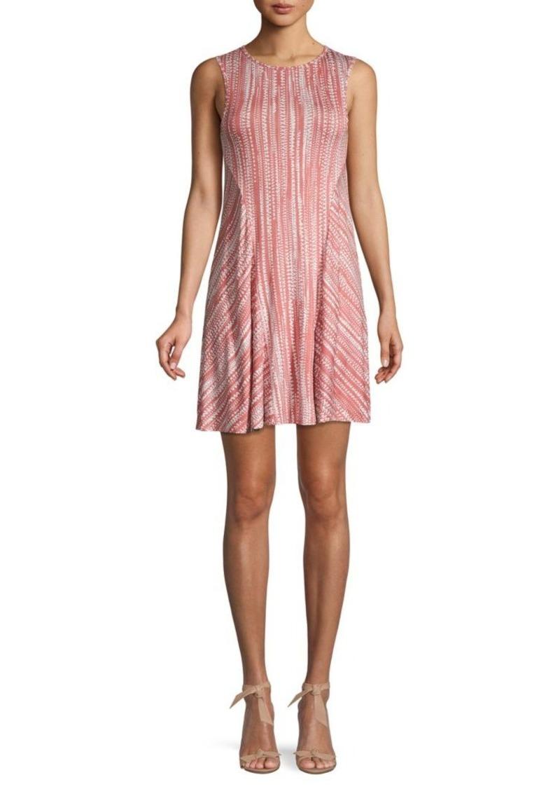 Rachel Pally Printed Mini Shift Dress