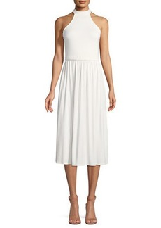Rachel Pally Beth Halter Cutout Midi Dress