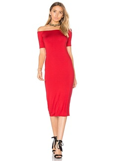 Rachel Pally Jagger Midi Dress in Red. - size L (also in M,S,XS)